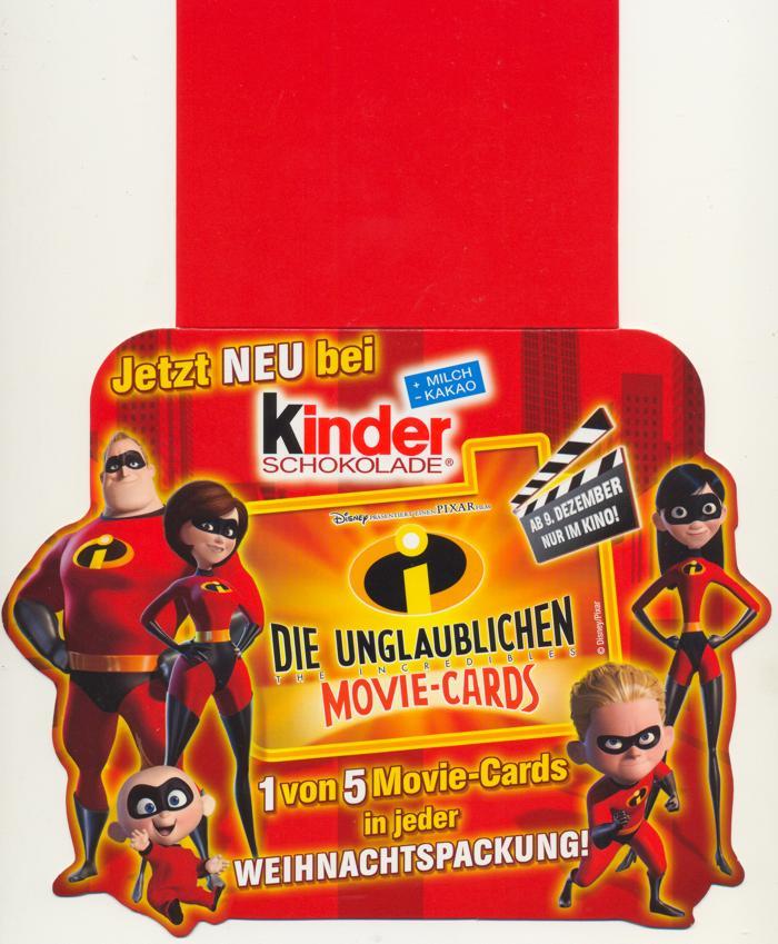 Kinderschokolade Cards